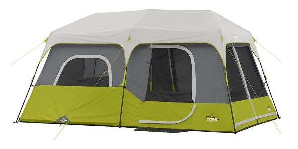 Close up of CORE 9 Person Instant Cabin Tent