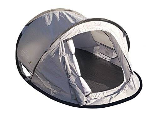 silver 2 person pop up tent