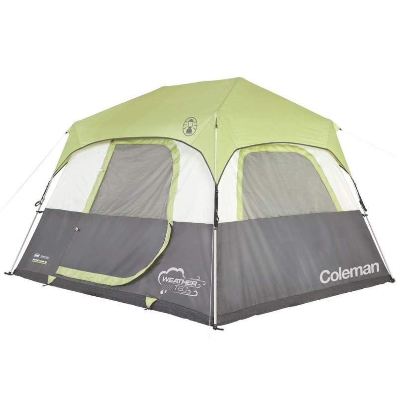 Coleman 6 person instant cabin tent with rainfly