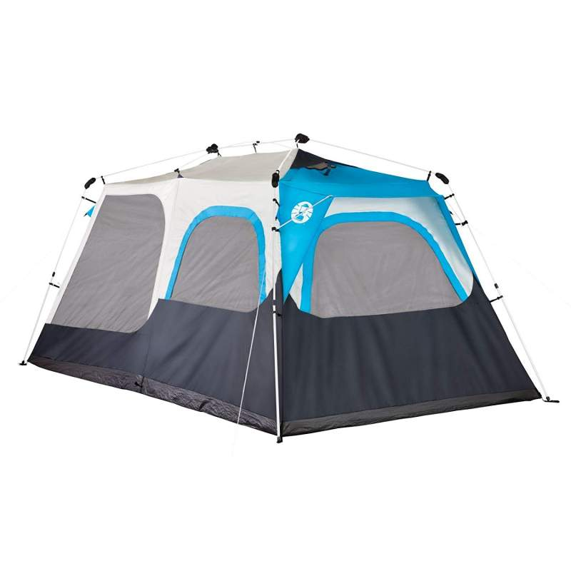 Coleman 8 person instant cabin tent with mini-fly