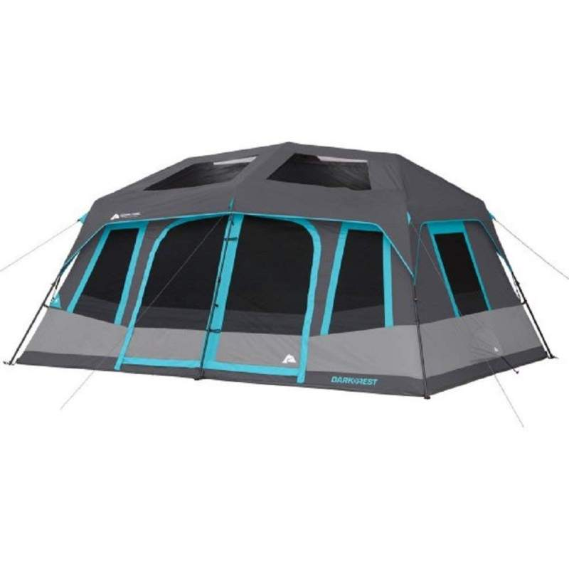 Ozark Trail 10 person dark rest instant cabin tent