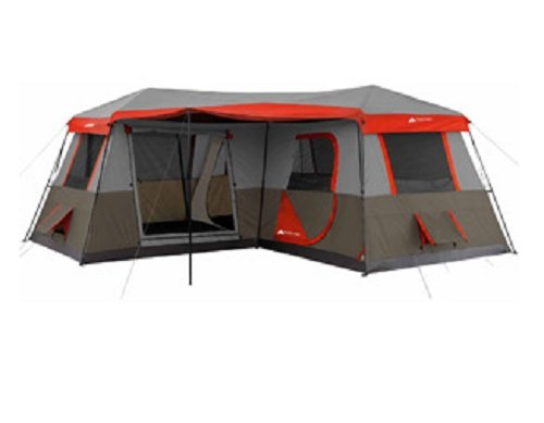 Ozark Trail 12 person 3 room instant cabin tent