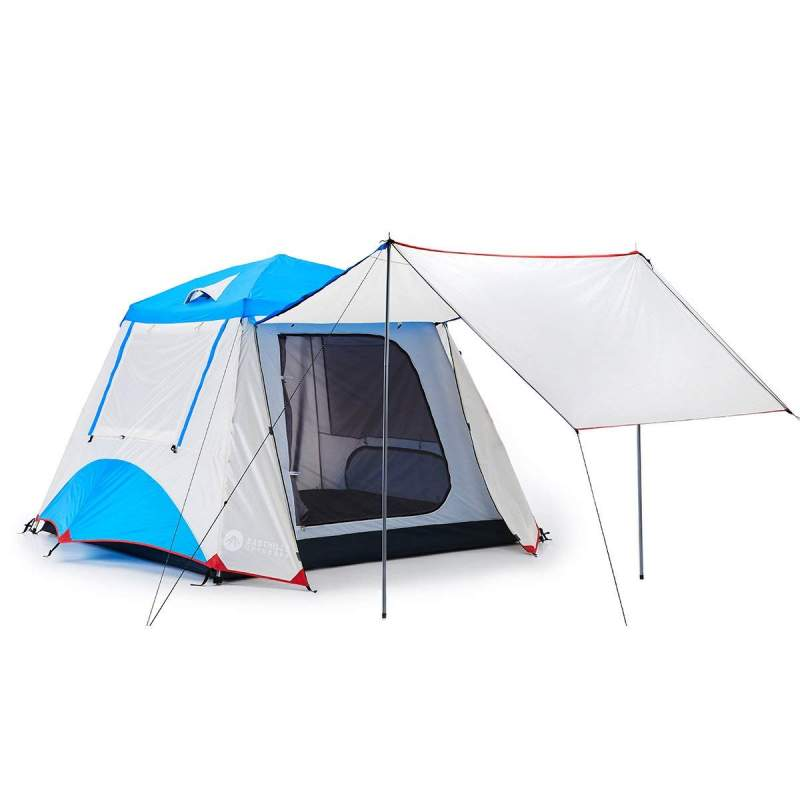 4 person instant tent with awning