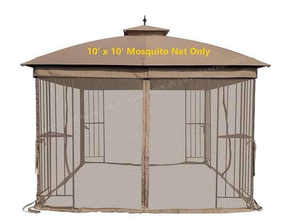 Replacement Gazebo Mosquito Netting