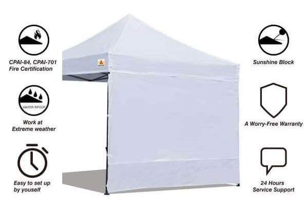 Replacement Pop Up Canopy Side Wall