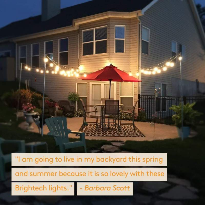 Brightech Ambience Pro canopy lights