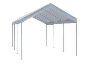 Abba Patio – Car Canopy 10 x 20 feet Steel Legs