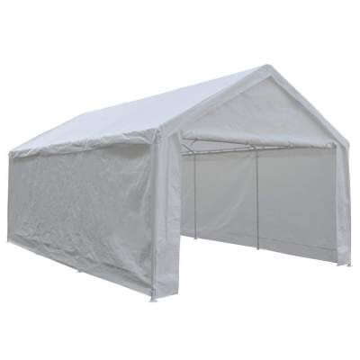 Abba Patio Car Canopy with Removable Side Panels 12 x 20 feet