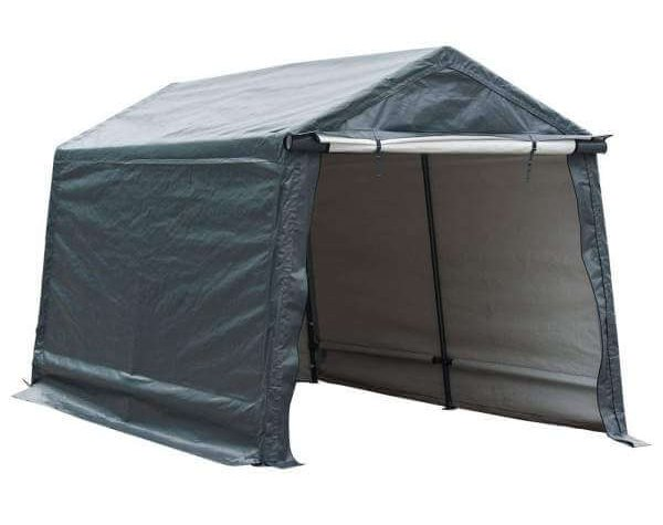 Abba Patio Storage Shelter Car Canopy 8 x 14 Feet