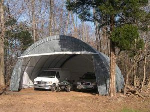 Car Canopy Storage Example