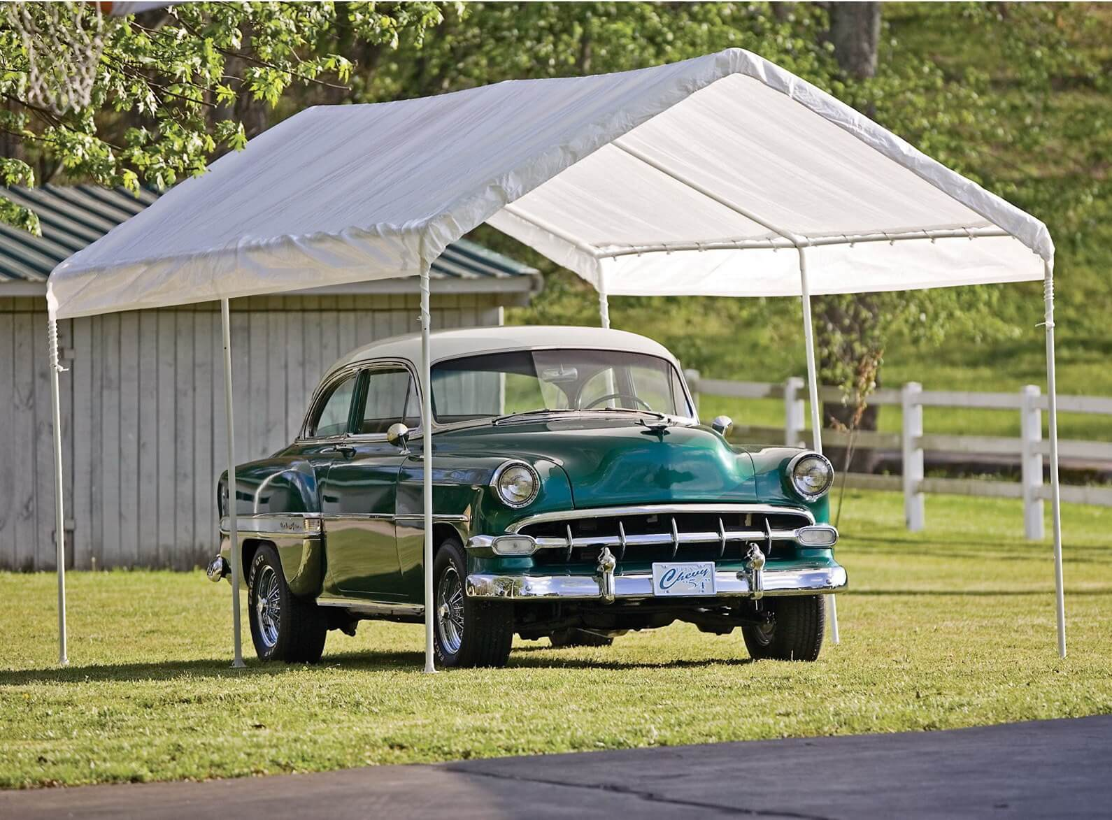 Car Canopy and Portable Garage Featured