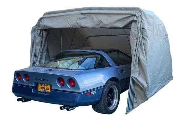 Ikuby Super Sturdy Heavy Duty Portable lockable Car Canopy