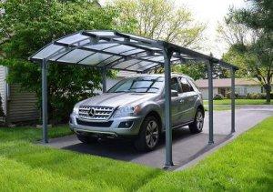 Palram Vitoria 16x12 Car Canopy and Patio Cover