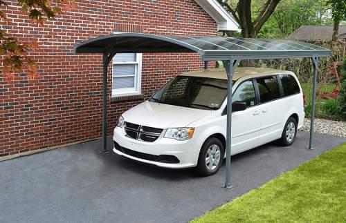 Palram Vitoria Car Canopy and Patio Cover