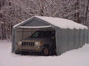 Rhino Shelters- Car Canopy 12 x 20 feet