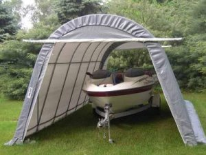 Rhino Shelters-SUV BOAT Car Canopy 14 x 24 feet