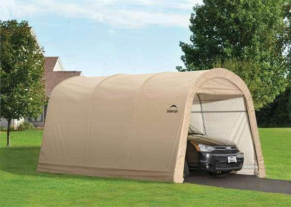 ShelterLogic Peak Style AutoShelter 10x15 feet