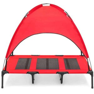 Best choice products dog canopy red
