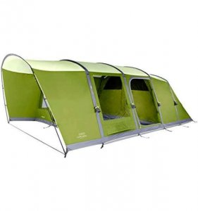 vango capri 600xl pitched