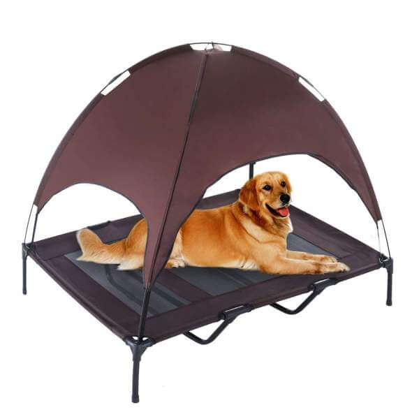 SUPERJARE XLarge Outdoor Canopy Dog