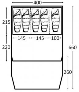 air tent size