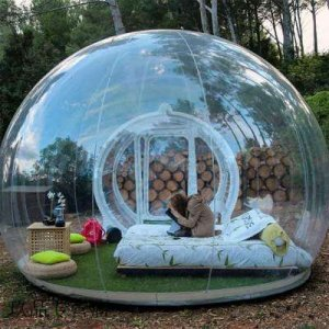 tunnel bubble tent