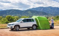 SUV Tent on the mountain