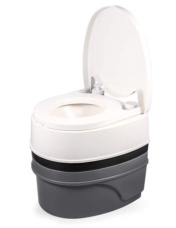 Camco 5 gallon travel toilet review