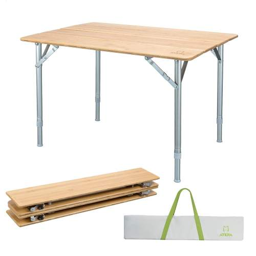 Atepa Bamboo Folding Table