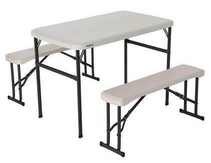 Lifetime folding picnic table review