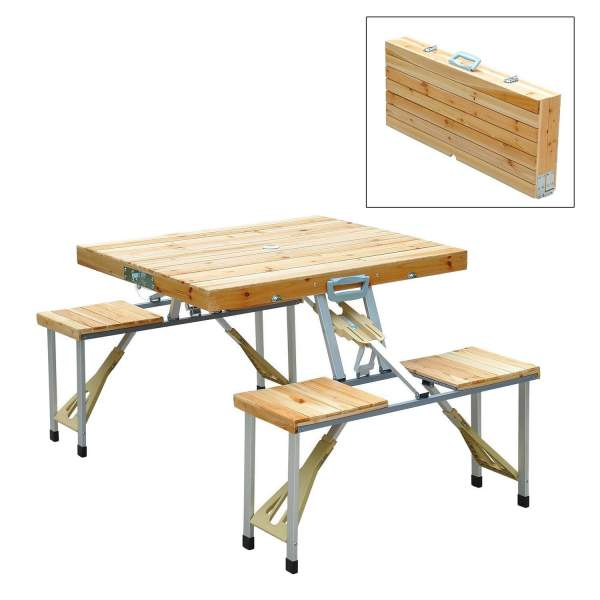 Outsunny Wooden Picnic Table