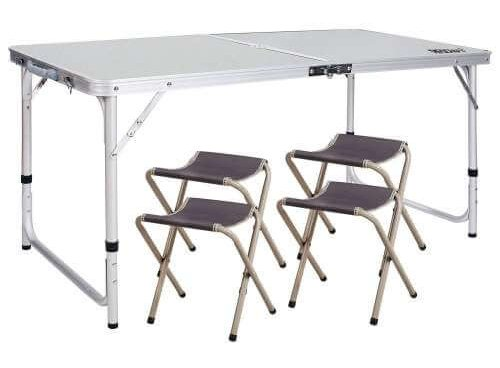 Redcamp Folding Picnic Table with Chairs review