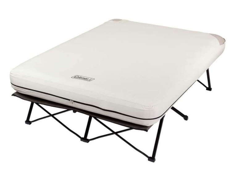 Coleman Folding Camp Cot with Air Bed Review