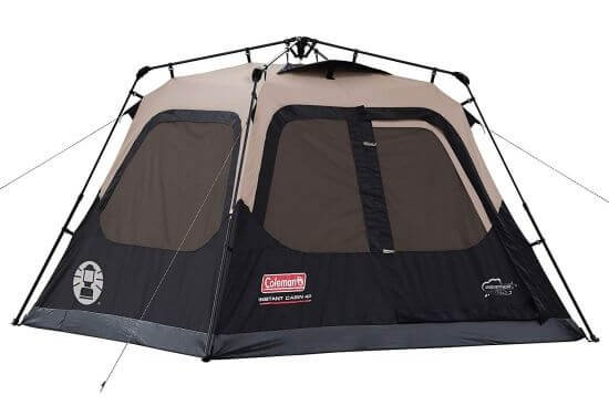 Coleman Cabin 4 Person Instant Tent