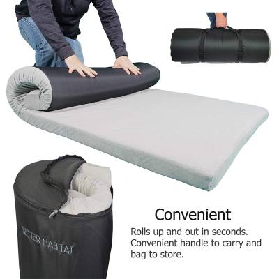10 Best Camping Mattress Reviews Twin Roll Up And Memory Foam
