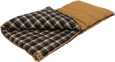 ALPS OutdoorZ Redwood Flannel Sleeping Bag
