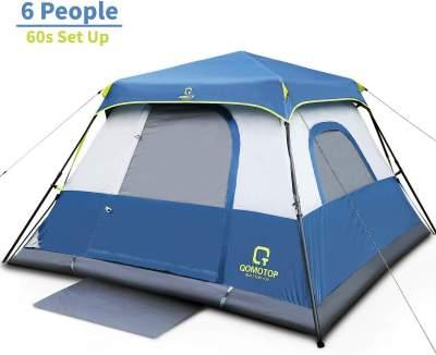 QOMOTOP 6 Person Instant Tent