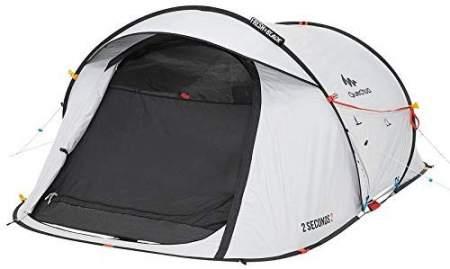Quechua Waterproof Pop Up Dark Tent
