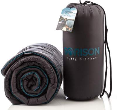 SORISON Synthetic Puffy Down Camping Quilt