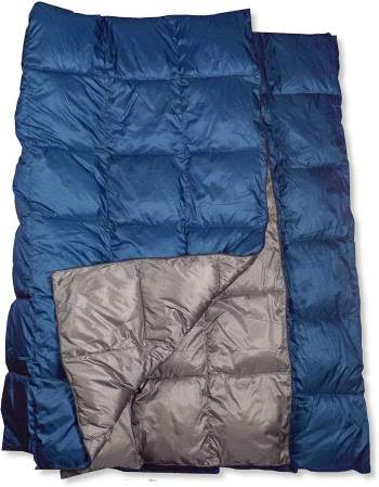 The Big Blue Mtn Synthetic Down Camping Blanket