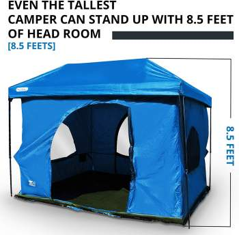 The Original-Authentic Standing Room Family Cabin Tent