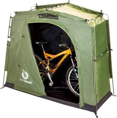 The YardStash IIIBike Storage Tent