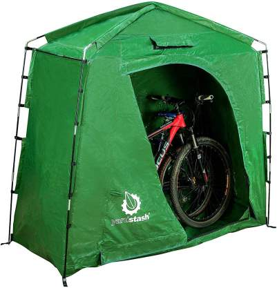 The YardStash IV Heavy Duty Storage Tent