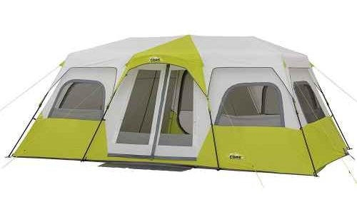 CORE 12 Person Instant Cabin Tent Pitched