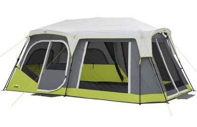 CORE 12 Person Instant Cabin Tent with Side Entrance
