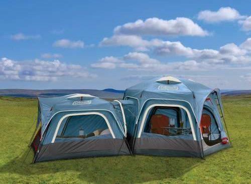 Coleman 3-Person & 6-Person Connectable Tent Bundle