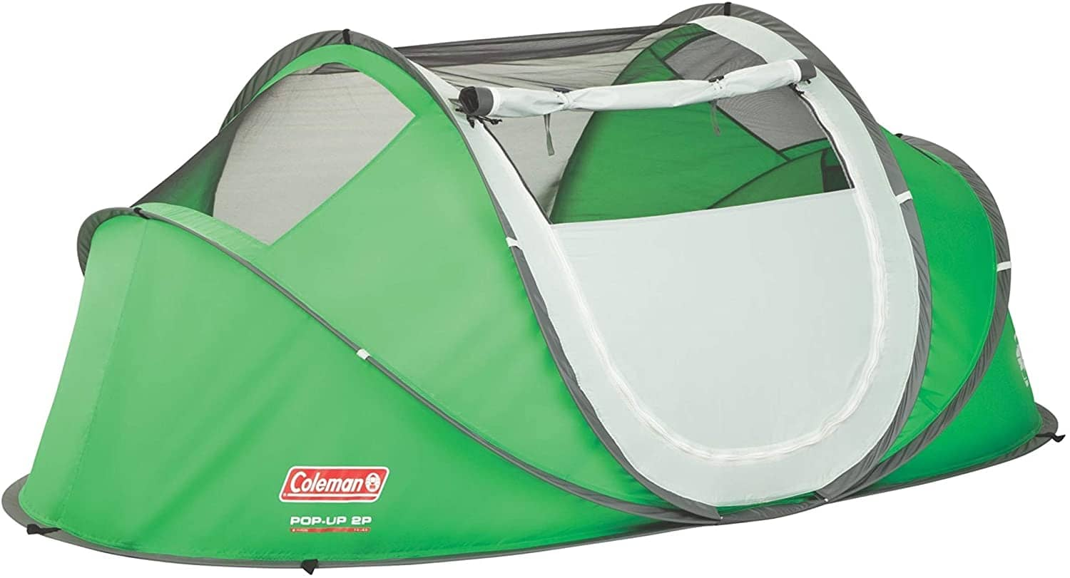 Coleman Galiano Tent with the meshed roof down