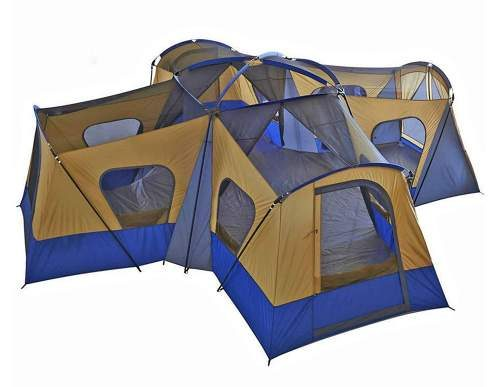 Fortunershop Family Cabin 14 Person Tent