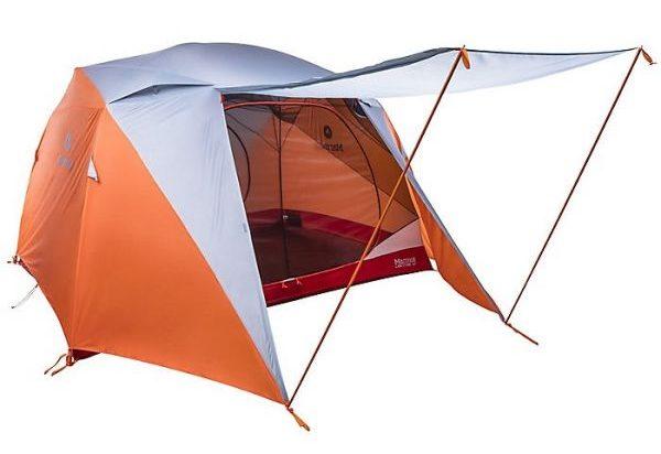 Marmot limestone 6 person tent orange
