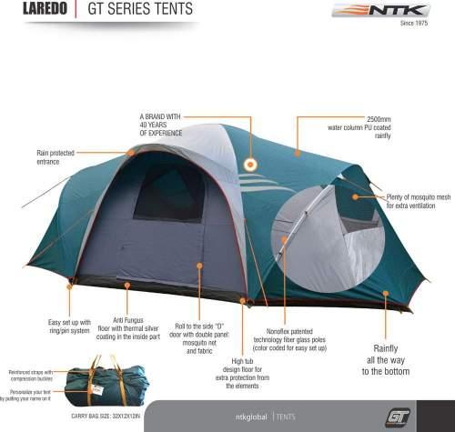 NTK Laredo GT 9 Person Tent